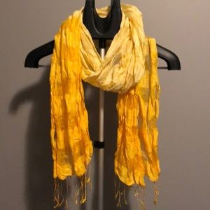 Accessories - Yellow ombré scarf